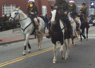 xmas horses